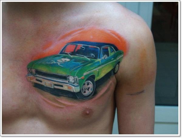 Car Tattoos For Men Motomobile