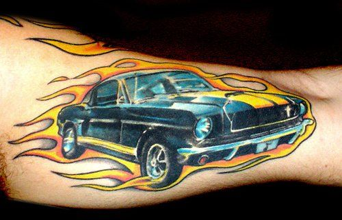 fire-gt-tattoo-on-arm