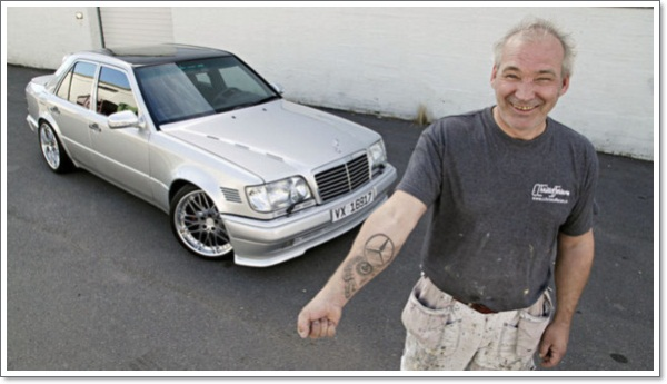 mercedes-car-tattoo